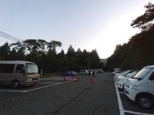 立雲峡駐車場