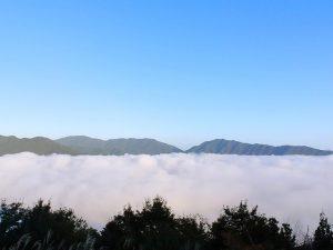 立雲峡第1展望台から