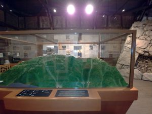 竹田城跡模型