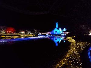 なばなの里イルミネーション光の大河