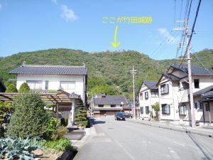 竹田まちなか観光駐車場前